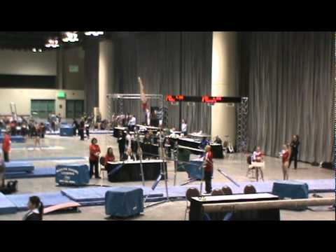 Molly Young: Level 10 Bar Routine, Northern Lights Meet 2012, 1st Place