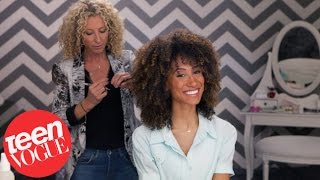 3 Steps to the Perfect Curly Cut - 3 Steps to - Teen Vogue