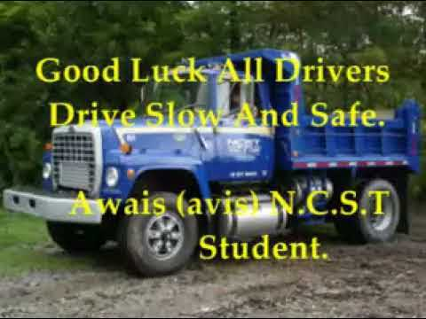 NCST Truck CDL Slide Show by Awais