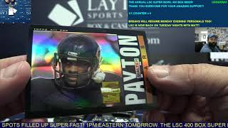 The Layton Sports Cards Annual Super Bowl 400 Box Football Mixer