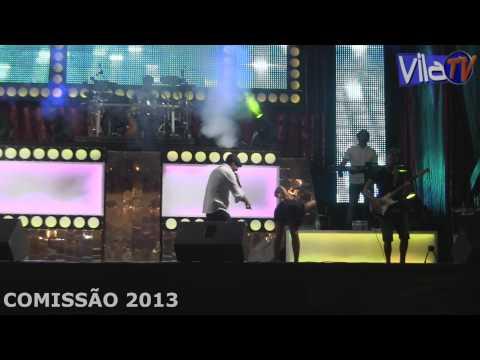 FESTA DO POVO 2013  VILA CH� DE S� COMISS�O 2013   10/08/2013 VINIL E FRANCK MAUREL