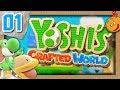 Yoshi's Crafted World Let's Play #1 L'Aventure qui Cartonne... (Gameplay FR)