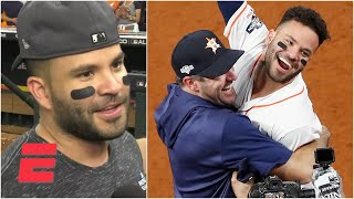 Jose Altuve, Houston Astros react to making World Series | 2019 MLB Postseason