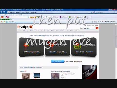 How To Get Mugen Eve Screenpack