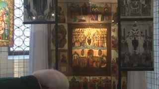 Соборное богослужение в Новодевичьем монастыре