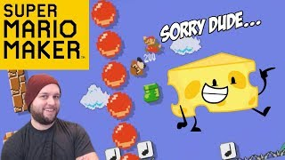 Super Mario Maker - Doing Dirty Things To This Level (Cheese Alert!) [Stream Highlights]