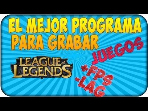 Como grabar partidas League Of Legends 2014 Tutorial HD