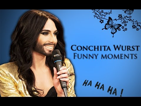 Funny Moments Compilation - Conchita Wurst