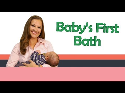 """Baby s First Bath"" Baby Care with Jenni June (Episode 5)"
