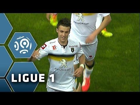 Goal Sébastien CORCHIA (45' +1) - SC Bastia-FC Sochaux-Montbéliard (2-2) - 05/04/14 - (SCB-FCSM)