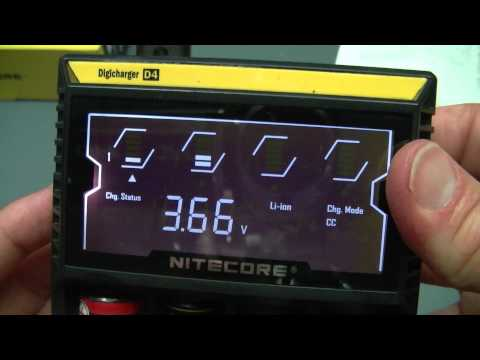Nitecore Digicharger D4 Li-ion Battery Charger Review