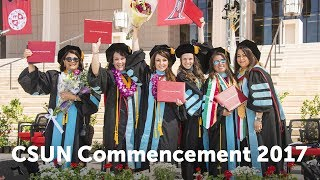 CSUN Commencement 2017: Education and Social & Behavioral Sciences I