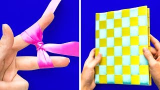 12 EASY CRAFTS WITH RIBBONS