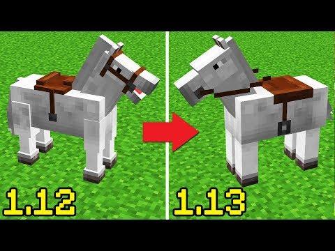 NEW HORSES! Minecraft 1.13 Snapshot Update Changes
