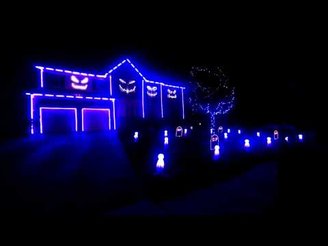 Halloween Light Show 2013 - Blurred Lines