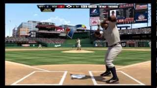 MLB 12 The Show Gameplay Yankees - Online Multiplayer Gameplay Nationals vs Yankees