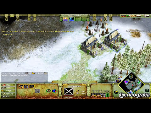 Age of Mythology - The Titans - Campanha Titans (Level 04) - Ep.33