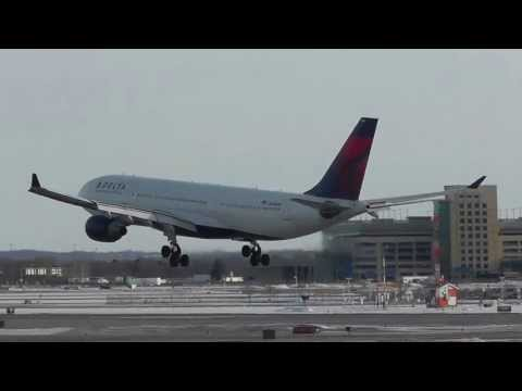 Delta Airlines | Airbus A330-223 Graceful Landing at Minneapolis/St. Paul Int'l