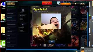 League Of Legends Kutu Açılımı