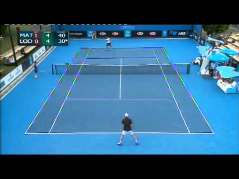 AO Play-off highlights: Marinko Matosevic v Michael Look