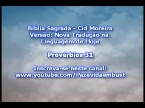 Provérbios 31 - Conselhos para um Rei (Cid Moreira)
