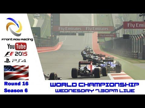 Front Row Racing World Championship round 16 USA season 6