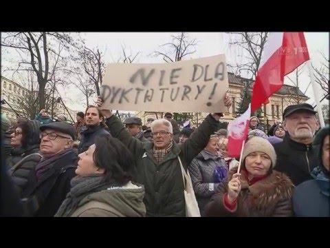 Manipulacyjny Materiał Lewickiej - O PiS, KOD, TK — Wiadomości TVP