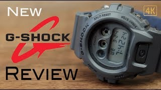 New G-Shock DW6900LU-8 Review 4k