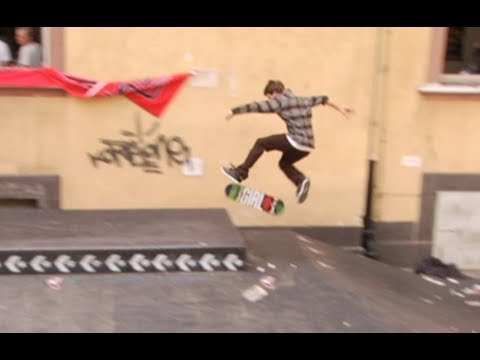 Torey Pudwill, David Gonzalez in Germany