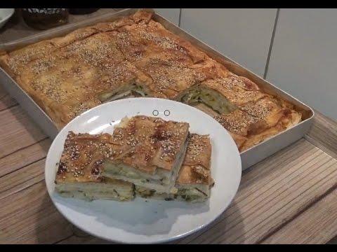 Peynirli Sodalı Börek Tarifi - Börek Tarifi Videosu