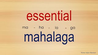 75 English Tagalog Dictionary Essential Words ( part 2 ) # 135