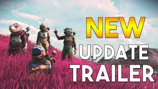 No Man's Sky – NEXT Update Official Trailer Released (Trailer Breakdown)