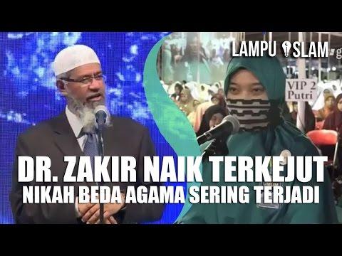 Dr. Zakir Naik Terkejut Nikah Beda Agama SERING TERJADI di Indonesia