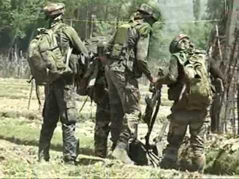 Intermittent Exchange Of Fire During Kupwara Gunfight
