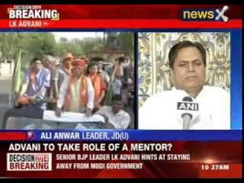 Lal Krishna Advani willing to take up Role of a mentor