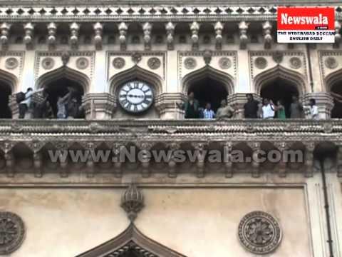 Actor Akshay Kumar visited Charminar, Hyderabad