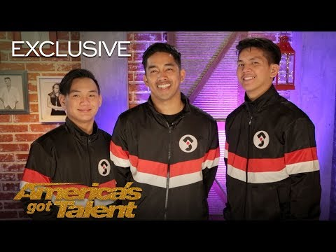 Junior New System Chats About Getting 4 Yeses In 6 Inch Heels - America's Got Talent 2018