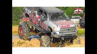 """Chevy Duramax Diesel """"Southern Raised"""" Deep Mud Slough Challenge."""