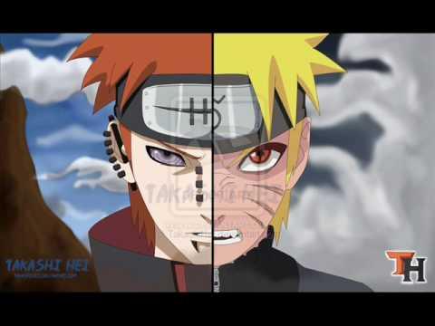 Naruto Vs Sasuke e Pain - YouTube
