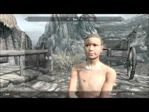 Skyrim - Killable Children pt. 1