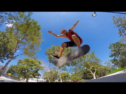 Playa Del Carmen Skateboarding, Mexico Friends Montage, Mitch Faber