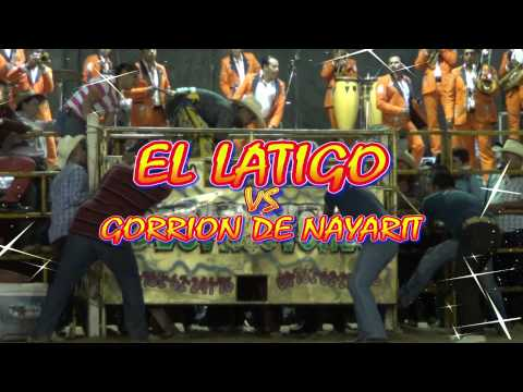 EL RETO DEL AÑO¡¡**EL LATIGO VS El Gorrion de Nayarit** LOS DESTRUCTORES EN CD GUZMAN, JAL. 2013