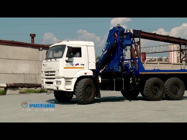 Агрегат транспортировки электрооборудования АТЭ-6 Камаз 43118 с КМУ АНТ 22-2 (г/п 7,3 тн)