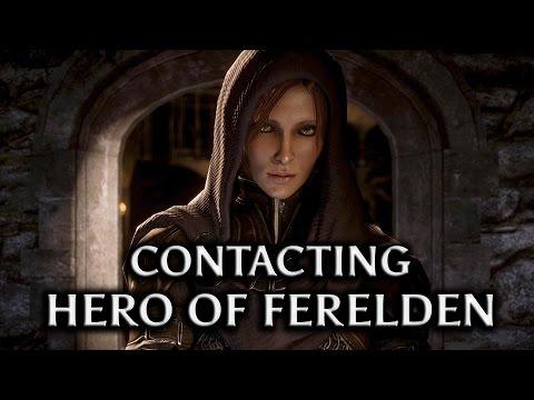 Dragon Age: Inquisition - Contacting the Hero of Ferelden (Alistair's Queen Warden)