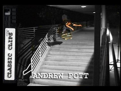 Andrew Pott Skateboarding Classic Clips #175 LA