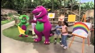 Watch Barney The Rainbow Song video