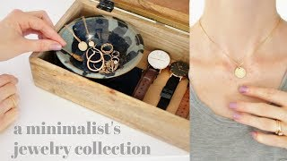 What A Minimal Jewelry Collection Looks Like | MINIMALISM