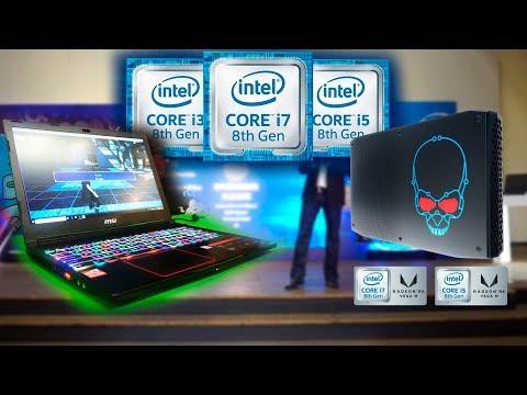 Primera Laptop Gamer de 8va en México presentada por Intel | Nuc intel con Vega | Nuevo director