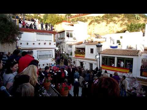 ALICANTE SEMANA SANTA - miércoles santo - procesión del barrio santa cruz