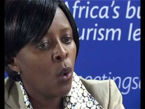 Nomasonto Ndlovu - South African Tourism @ Meetings Africa 2009